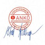 ANKOE Siegel mit Unterschrift