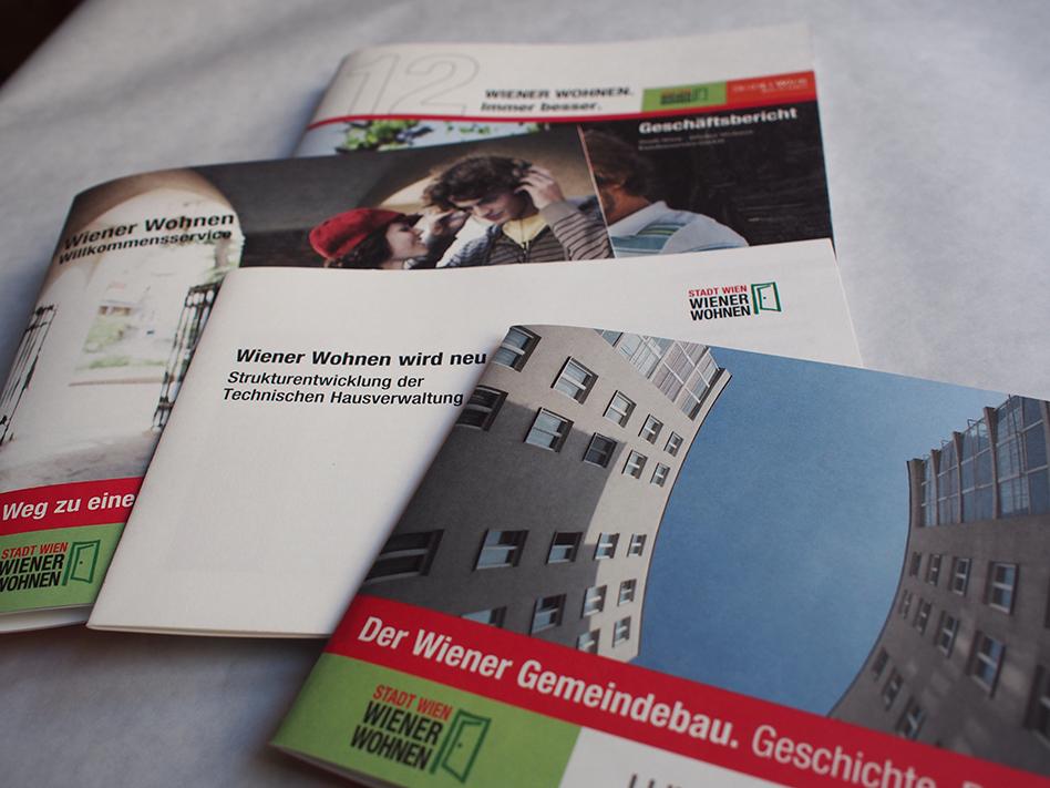 Publikationen von Wiener Wohnen