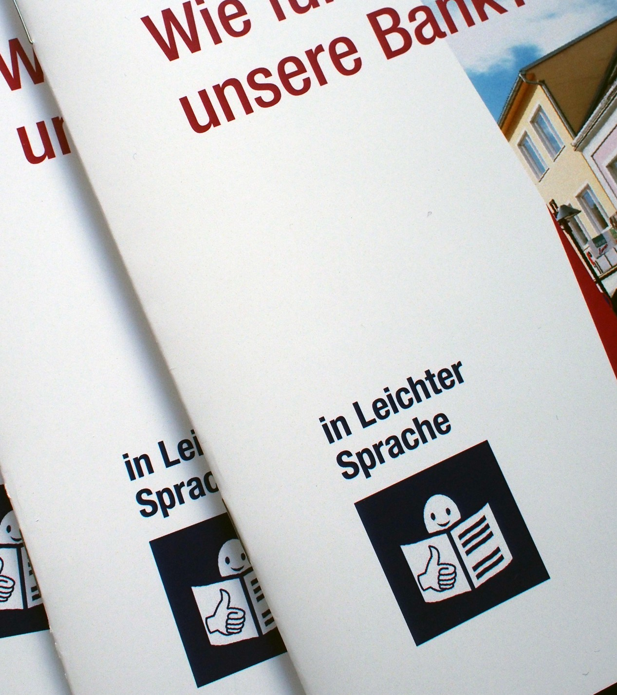 Info-Folder in Leichter Sprache
