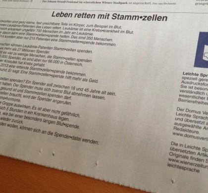 Kooperation mit der Wiener Zeitung